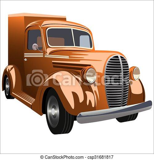 retro car - csp31681817