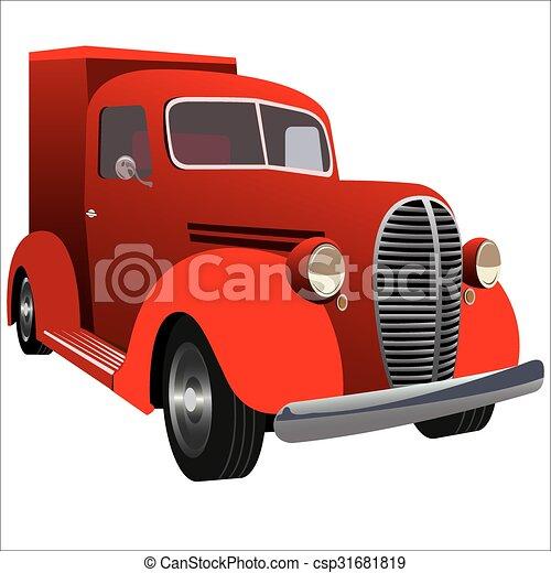 retro car - csp31681819