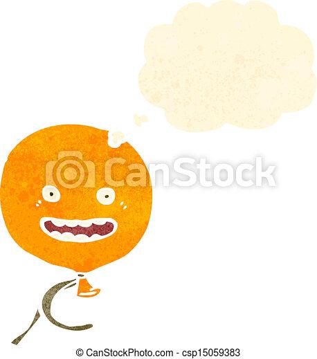 retro cartoon balloon - csp15059383