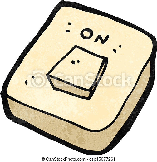 Clip art vector of retro cartoon light switch csp15077261 search vector retro cartoon light switch sciox Gallery