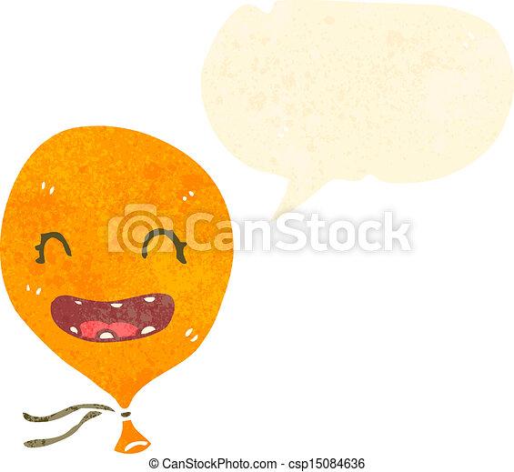 retro cartoon talking balloon - csp15084636