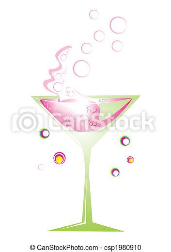retro, cocktail - csp1980910