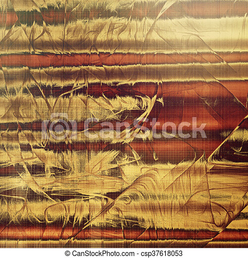 Retro design composition, grunge background or textured backdrop. With different color patterns: yellow (beige); brown; red (orange); gray - csp37618053