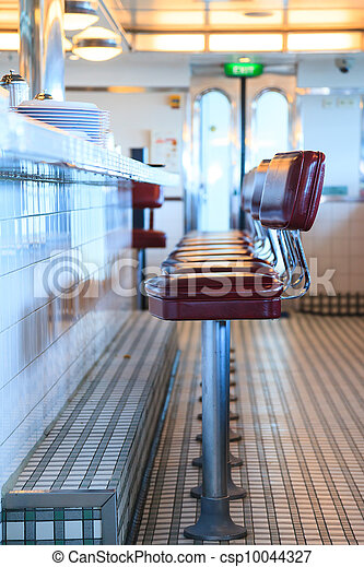 Retro Diner - csp10044327