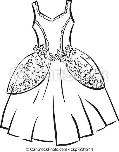 Retro dress - csp7201244
