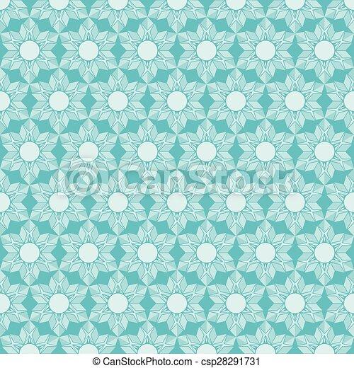 retro flora pattern design  - csp28291731