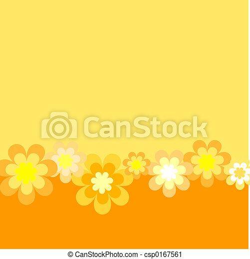 Retro flowers - csp0167561