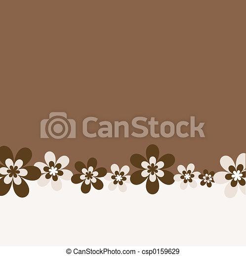 Retro flowers - csp0159629