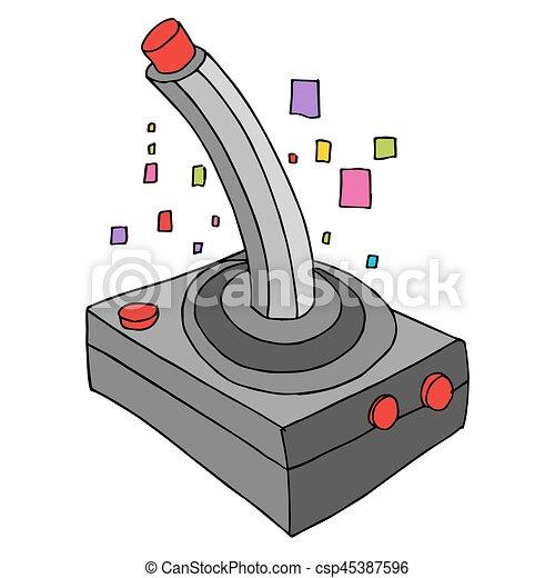 Retro Game Controller - csp45387596