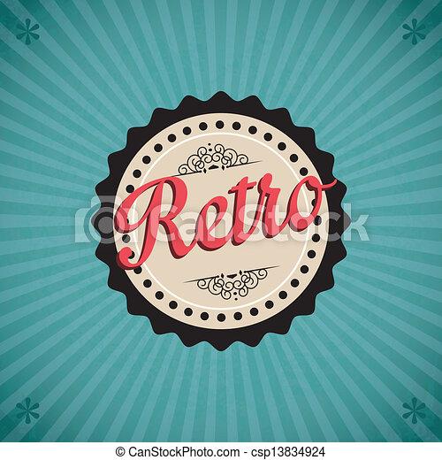 Retro Icons - csp13834924
