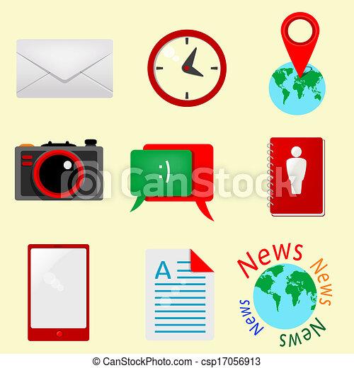 Retro icons - csp17056913