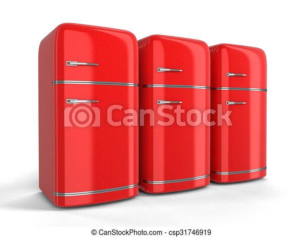 Retro Kühlschrank Ch : Retro kühlschrank. pfad ausschnitt refrigerator. bild retro.