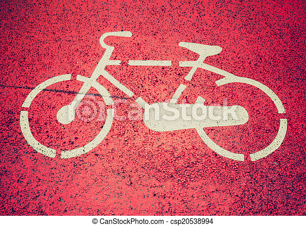 Retro look Bike sign - csp20538994