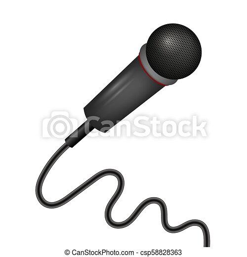 Retro Microphone Icon - csp58828363