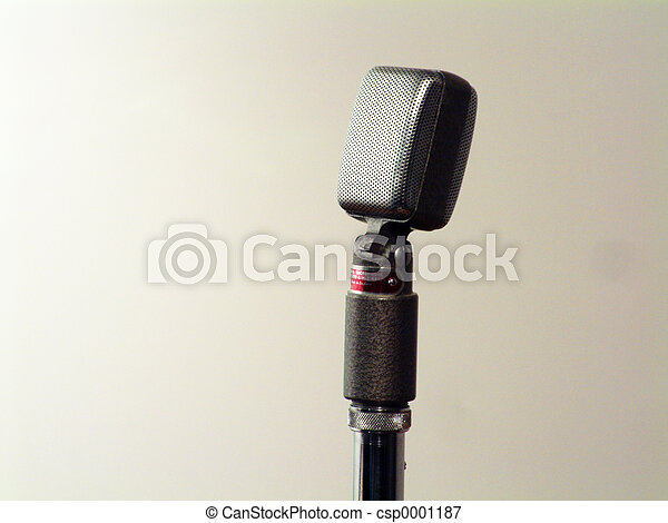 Retro Microphone - csp0001187