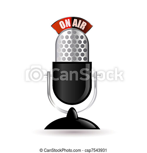 retro microphone - csp7543931
