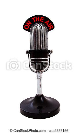 Retro Microphone - csp2888156
