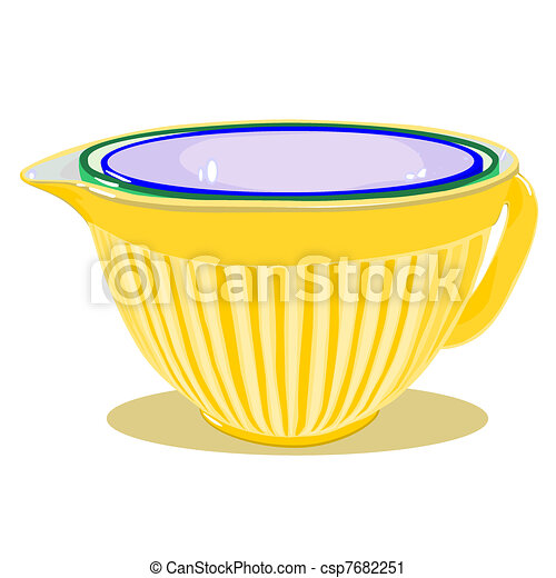 White Mixing Bowl - Mixing Bowl Clipart - Png Download (#240302) -  PinClipart