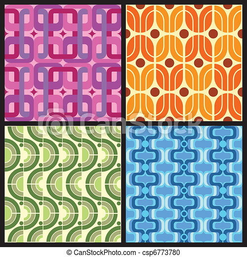 Retro Patterns - csp6773780