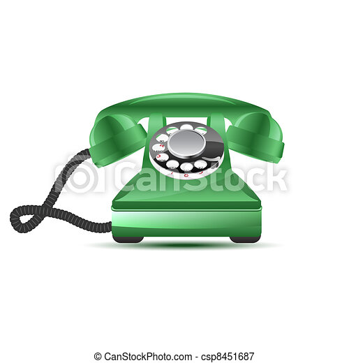 Retro phone - csp8451687