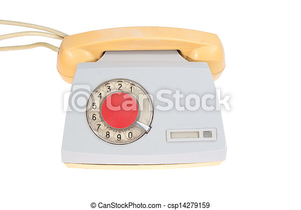 retro phone - csp14279159