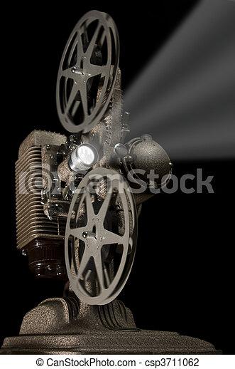 Retro Projector - csp3711062