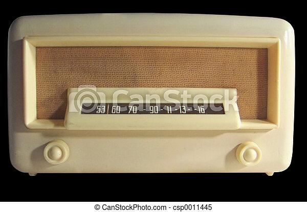Retro Radio - csp0011445