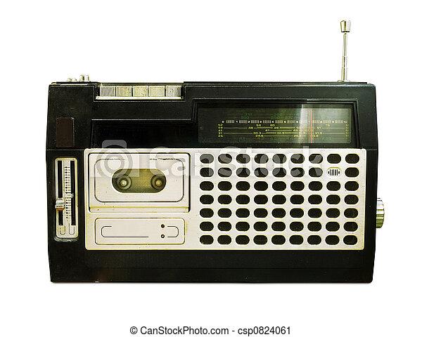 Retro Radio (Tape Recorder) - csp0824061