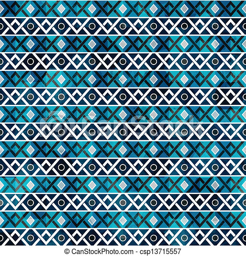 retro seamless pattern with grunge effect - csp13715557