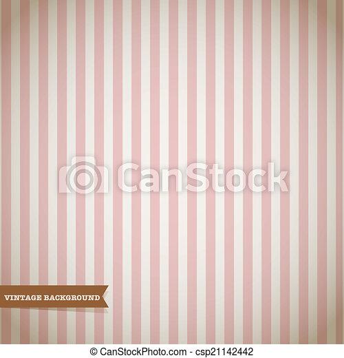Retro Stripe Pattern - csp21142442