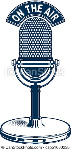 Retro clipart microphone, Retro microphone Transparent FREE for download on  WebStockReview 2020