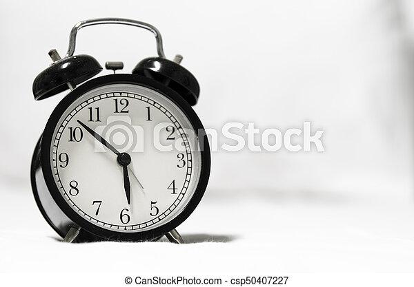 Retro style alarm clock - csp50407227