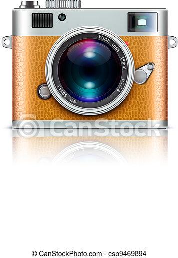 retro style camera - csp9469894