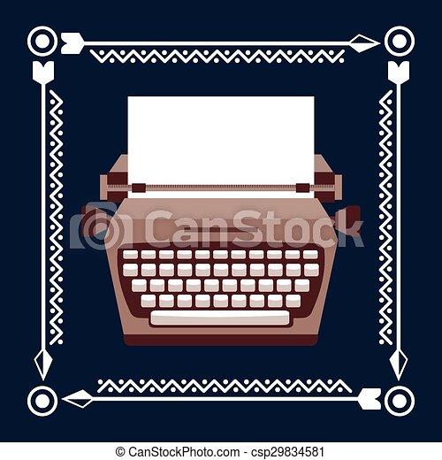 retro style  - csp29834581