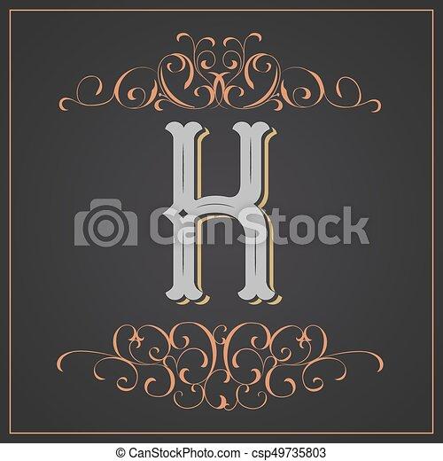 Retro Style Western Letter Design Letter K Retro Style Western