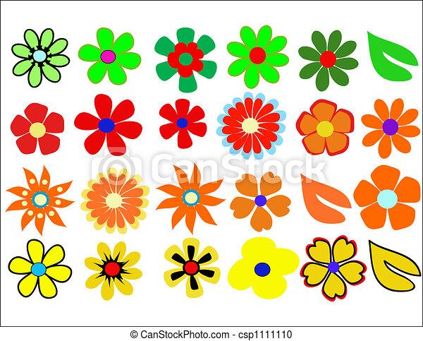 retro,styled, fleur, fond , csp1111110