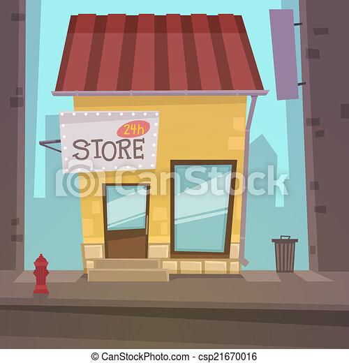 La tienda de retrógrados - csp21670016