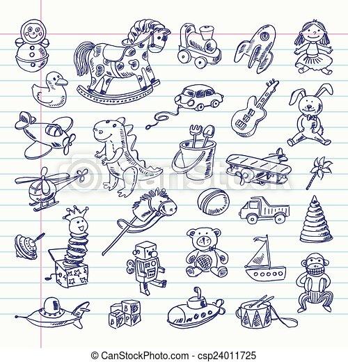 retro toys items - csp24011725