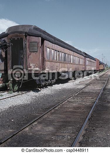 Retro train - csp0448911