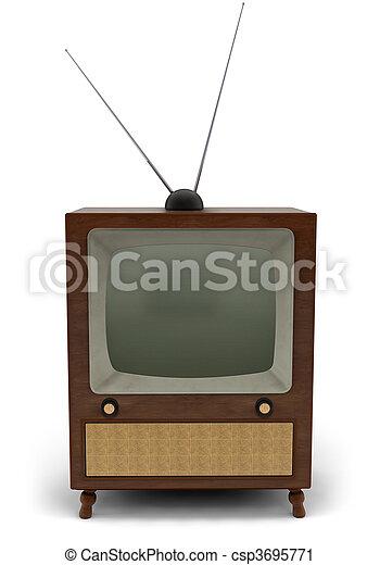Retro TV - csp3695771