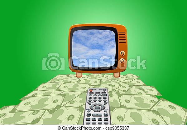 Retro tv - csp9055337