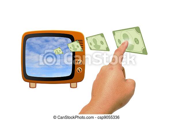 Retro tv - csp9055336