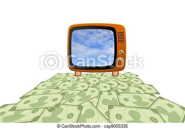 Retro tv - csp9055335