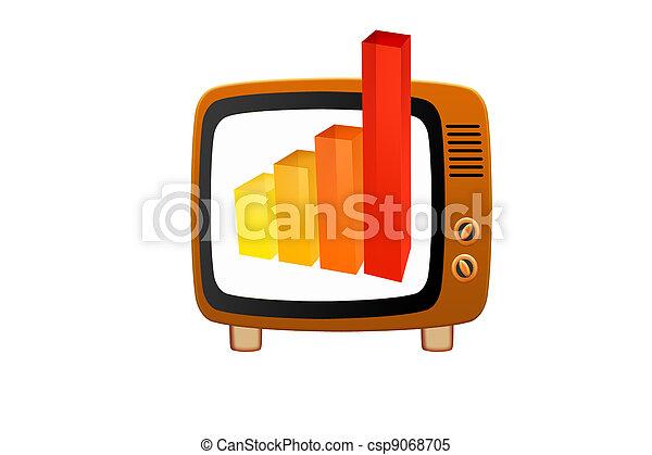 Retro tv - csp9068705