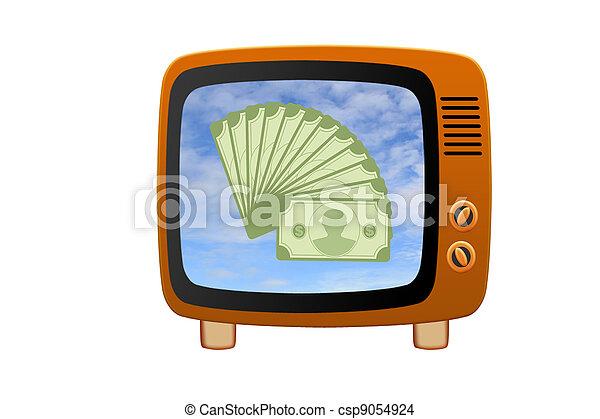 Retro tv - csp9054924