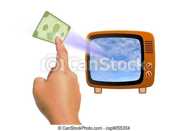 Retro tv - csp9055334