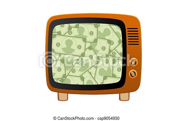 Retro tv - csp9054930