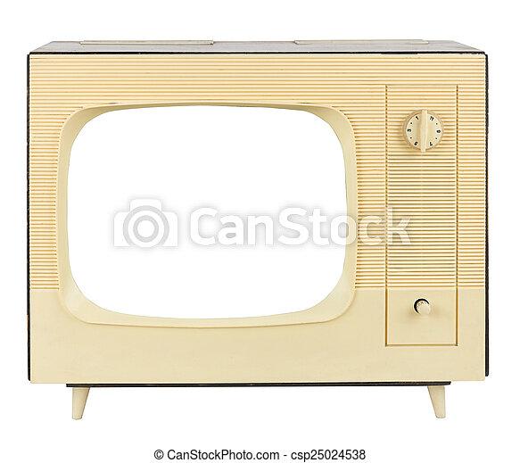 retro tv - csp25024538