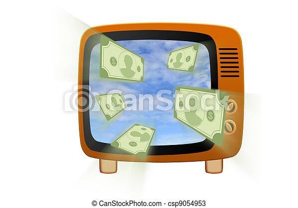 Retro tv - csp9054953