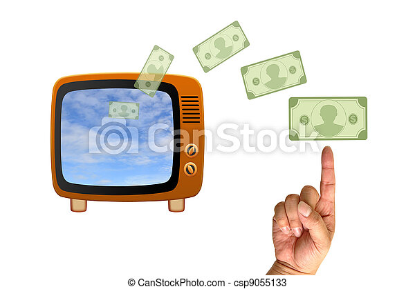 Retro tv - csp9055133